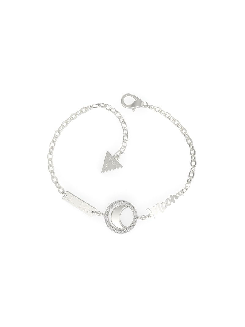 """I NEED MY SPACE"" MOON CIRCLE BRACELET image number 0"