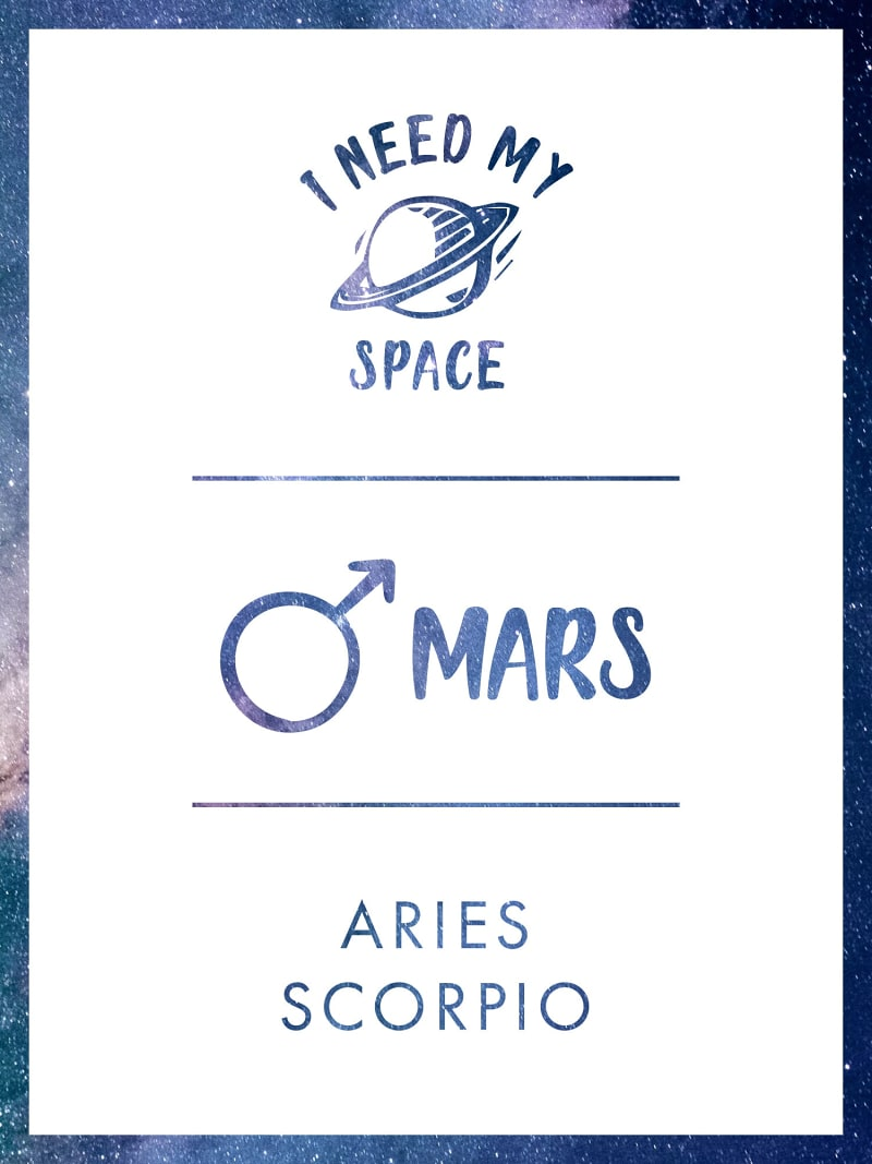 БРАСЛЕТ «I NEED MY SPACE» С МАРСОМ image number 1
