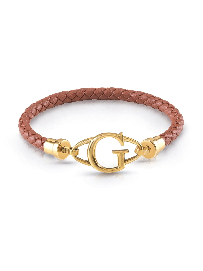 BRAIDED LEATHER BRACELET image number 0