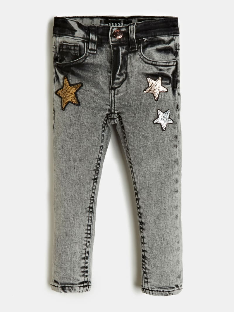 JEANS SKINNY FIT PAILLETTEN image number 0