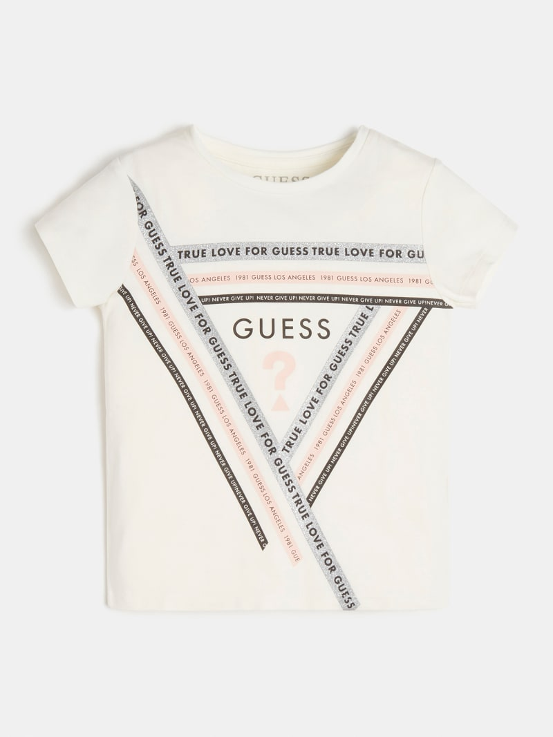 FRONT LOGO TRIANGLE T-SHIRT image number 0