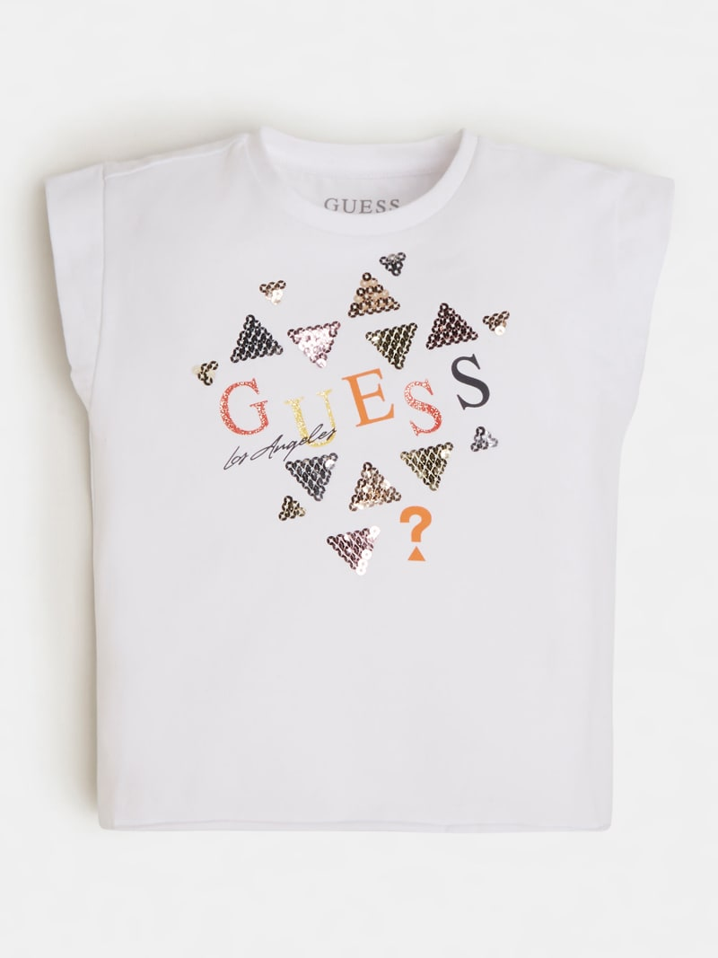 SEQUINS LOGO T-SHIRT image number 1