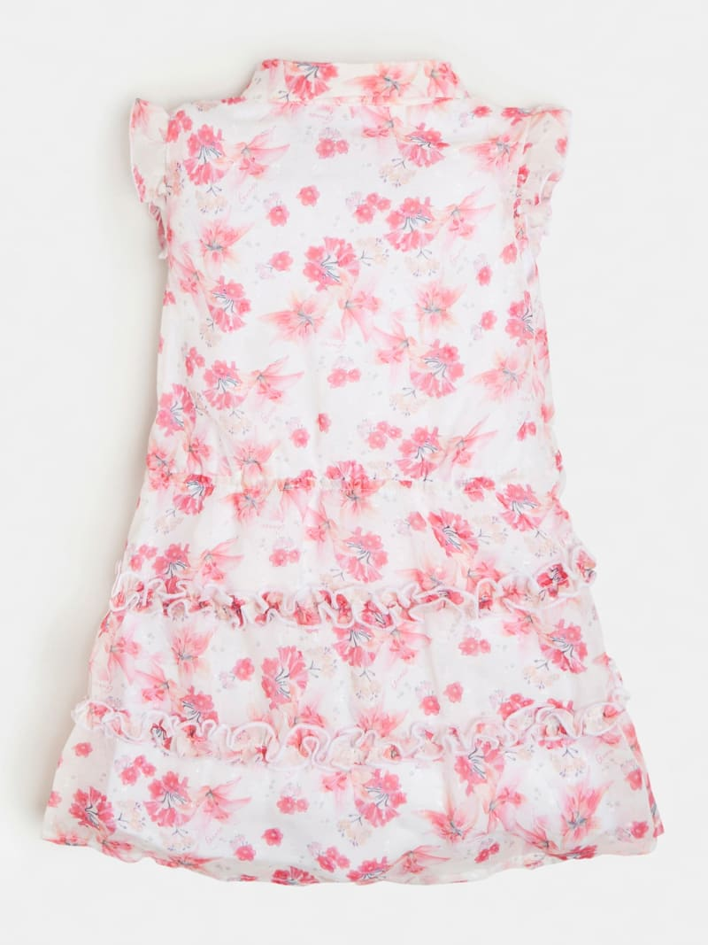 CHIFFON ALL OVER PRINT DRESS image number 1