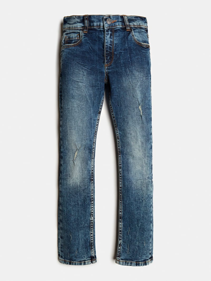 SLIM FIT DENIM PANT image number 0