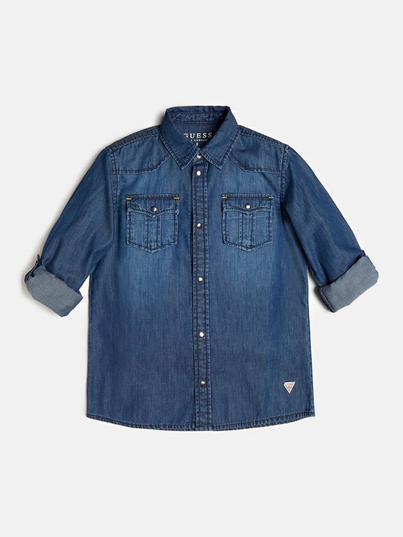 CAMICIA JEANS image number 0