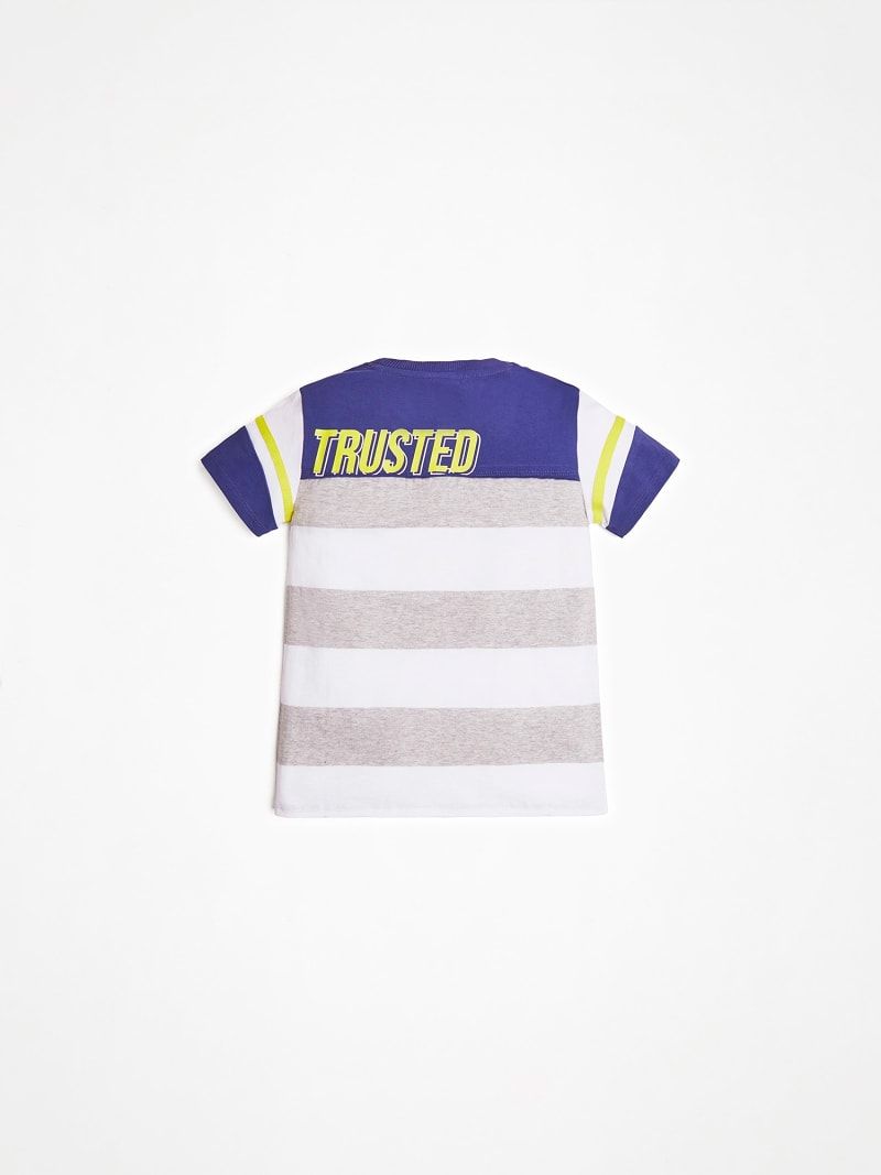 FRONT LOGO STRIPED T SHIRT image number 1