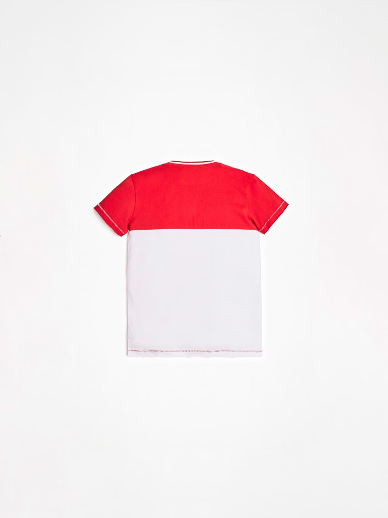T-SHIRT COLOR BLOCK PRINT image number 1