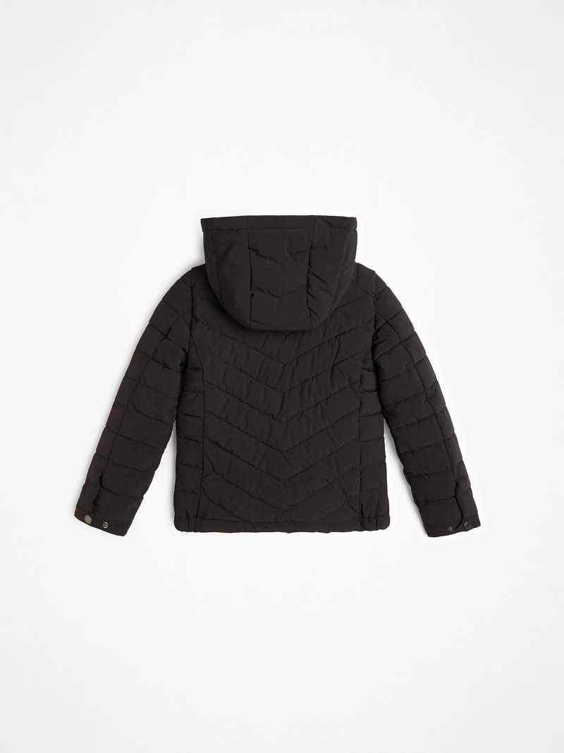 QUILTED PADDED HOOD JACKET image number 2