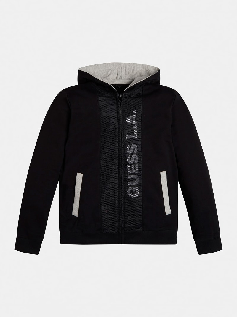 SWEAT-SHIRT CAPUCHE GLISSIERE image number 0