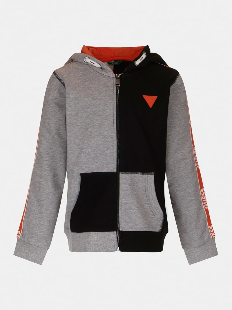 VESTE COLOR-BLOCK LOGO LATERAL image number 0