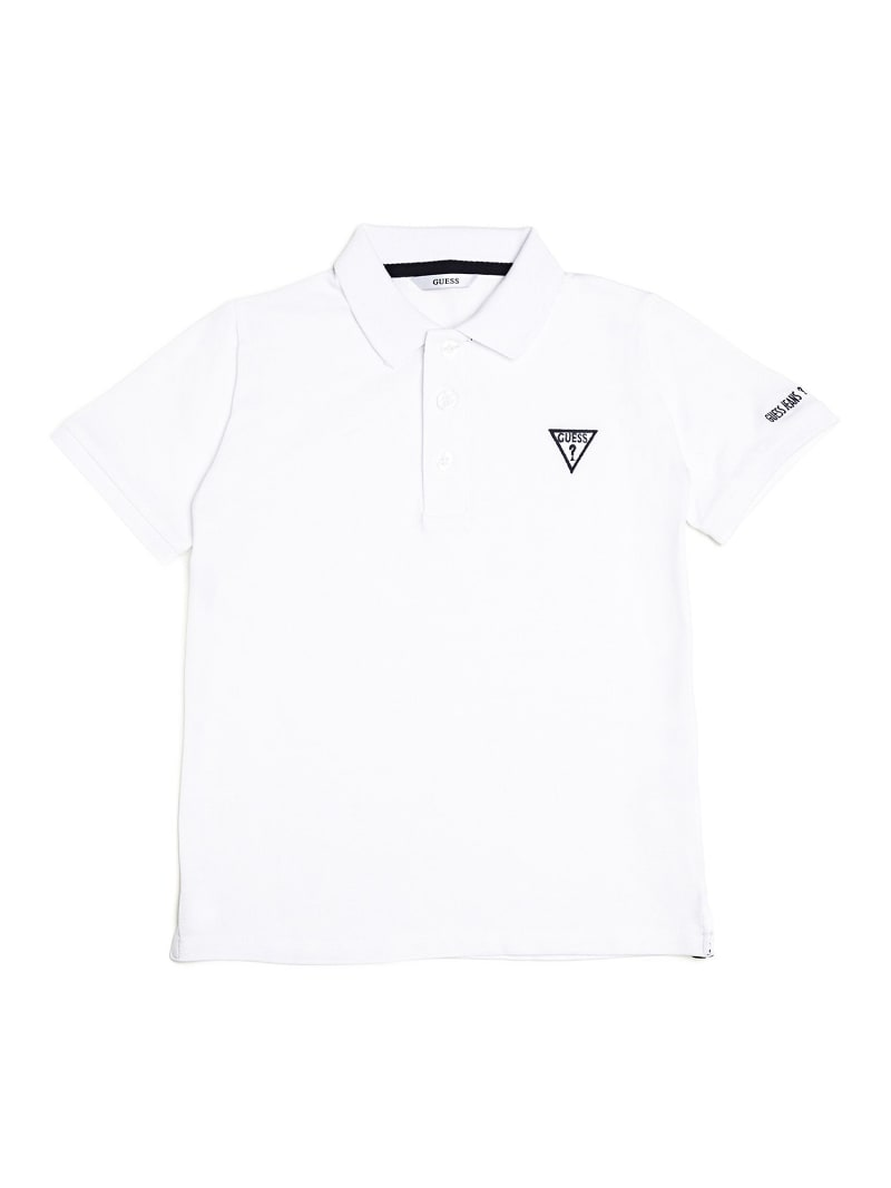 CAMISETA POLO LOGO FRONTAL image number 0