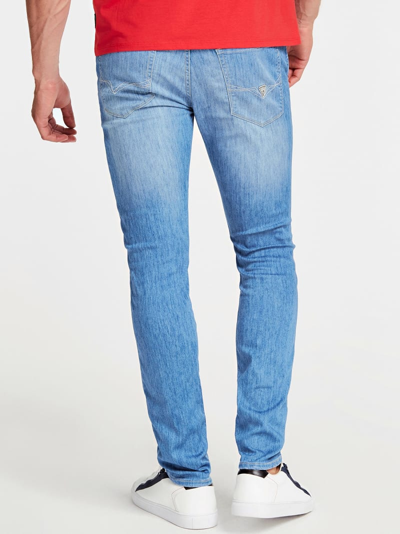 SUPER SKINNY FIT DENIM PANT image number 2