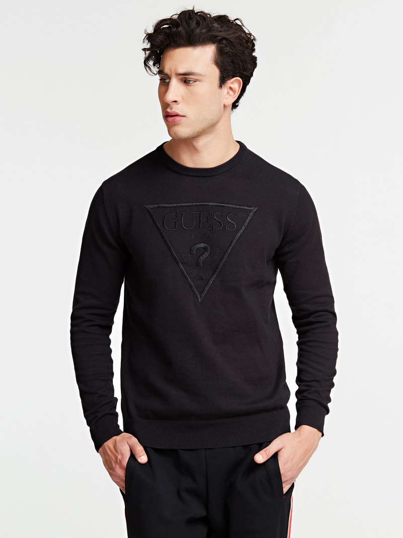 TRIANGLE LOGO SWEATER image number 0