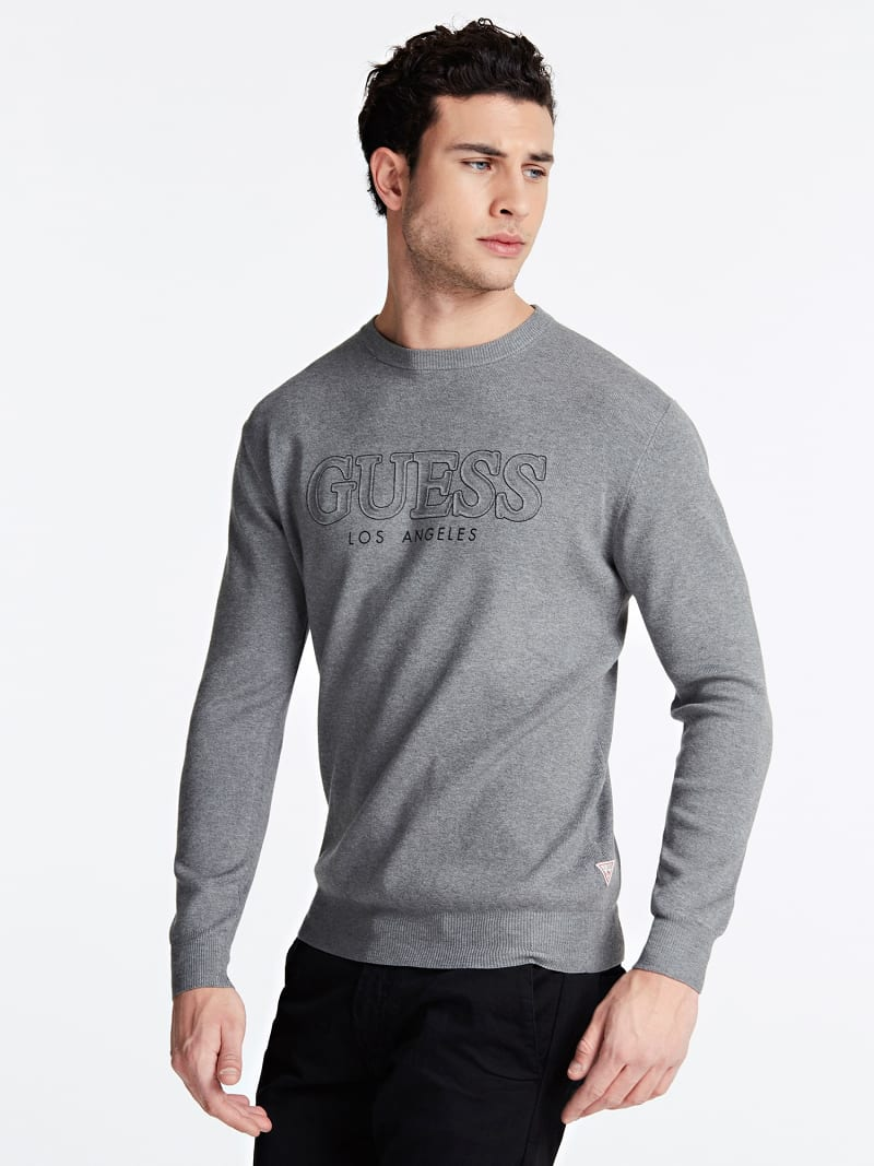 FRONT LOGO SWEATER image number 0