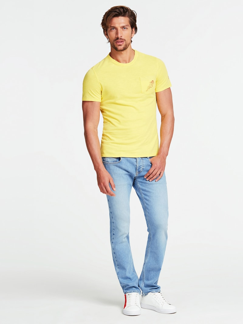 SLIM FIT DENIM PANT image number 1