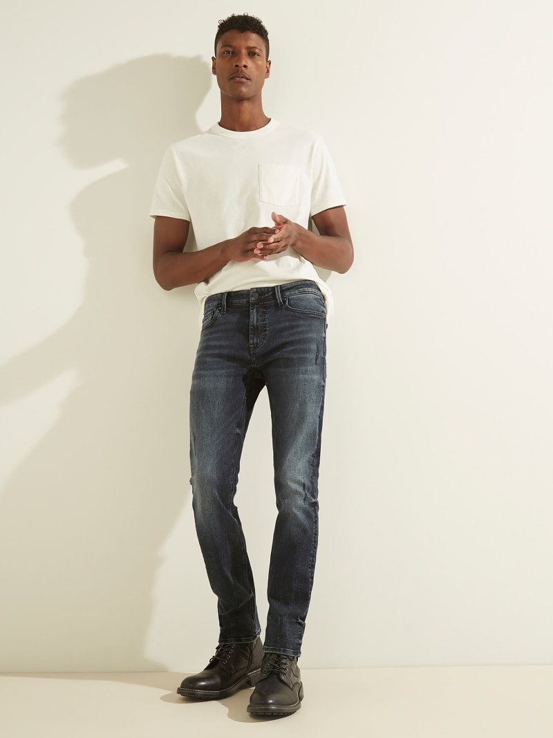 SLIM FIT DENIM PANT image number 4
