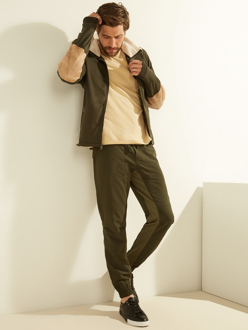 COLOUR BLOCK PANTS image number 1
