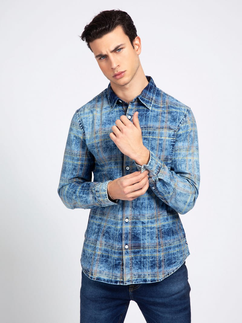 CHECK PRINT SHIRT image number 0
