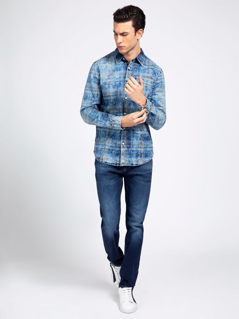 CHECK PRINT SHIRT image number 1