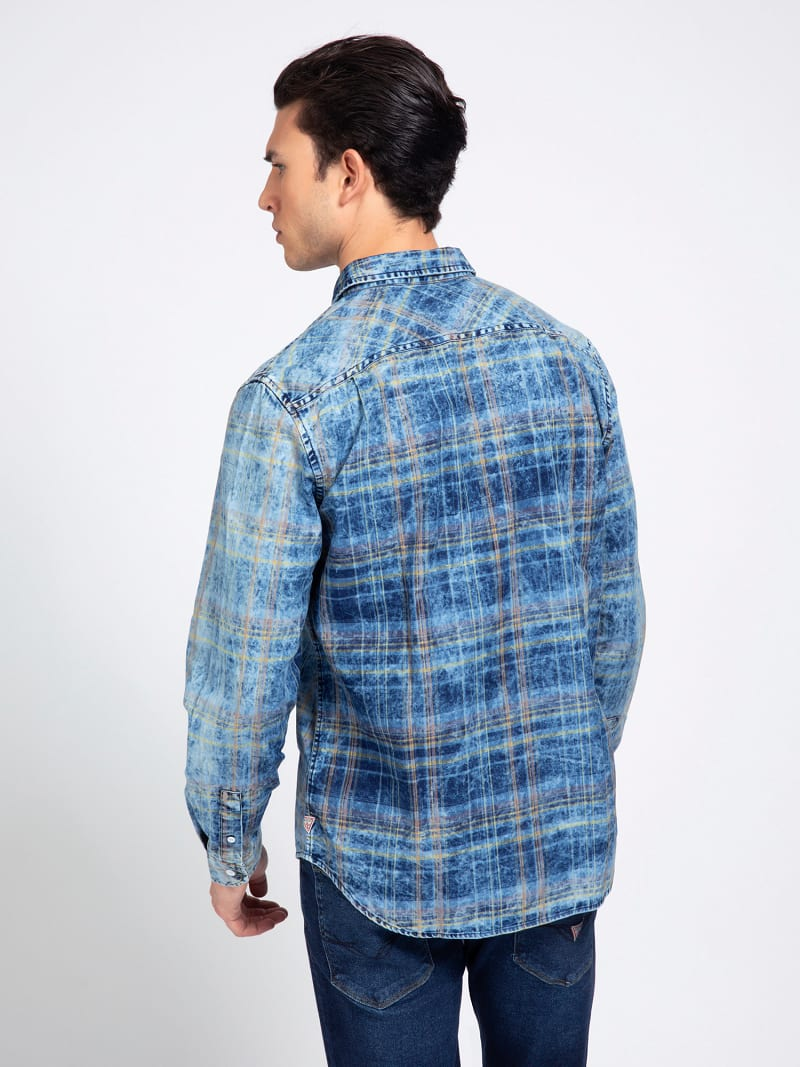 CHECK PRINT SHIRT image number 2