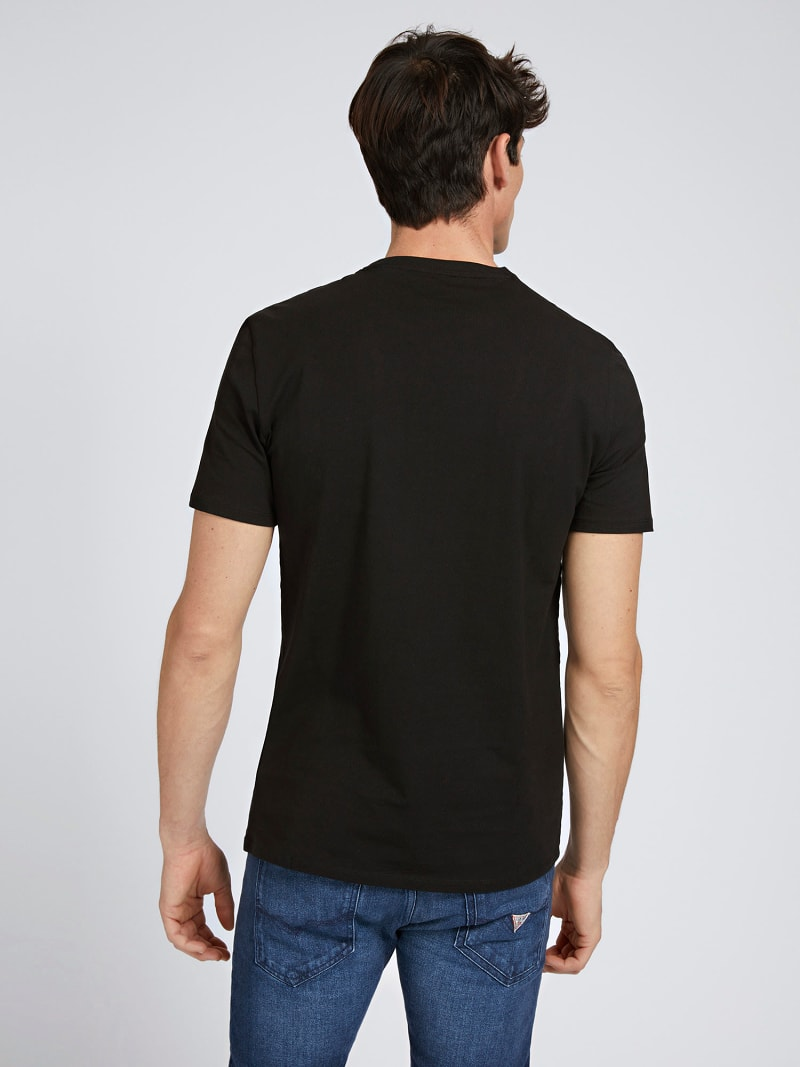 T-SHIRT TRIANGOLO LOGO SLIM  image number 2