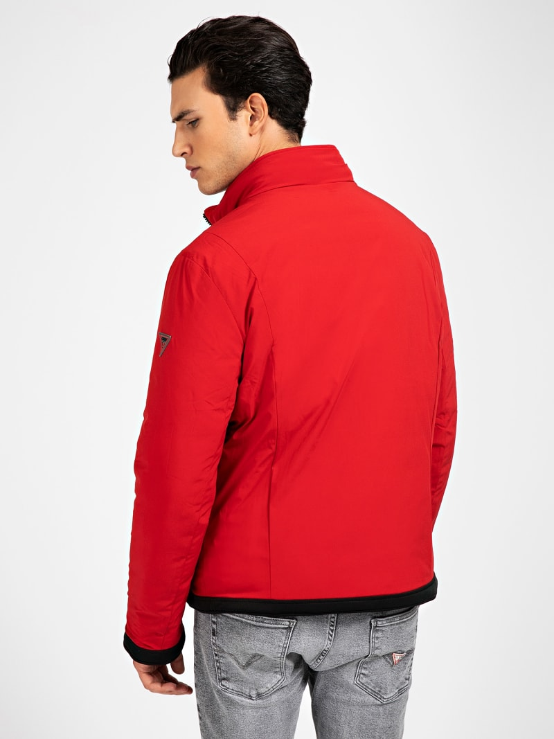 CHAQUETA ACOLCHADA REVERSIBLE image number 5