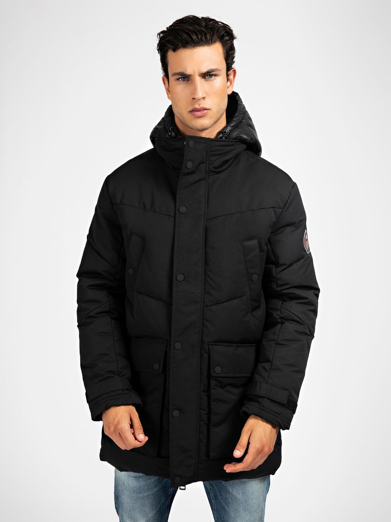 PARKA CAPUCHE OUATINEE image number 0