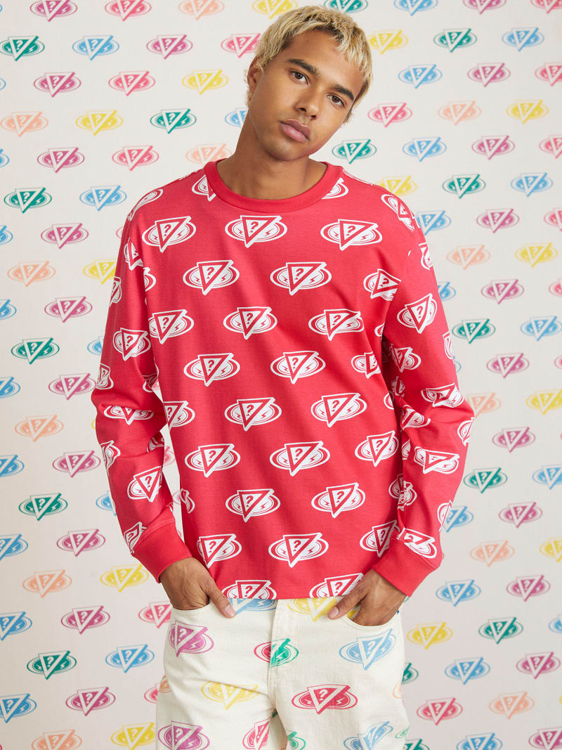 CAMISETA J BALVIN CON LOGO ALL OVER image number 0