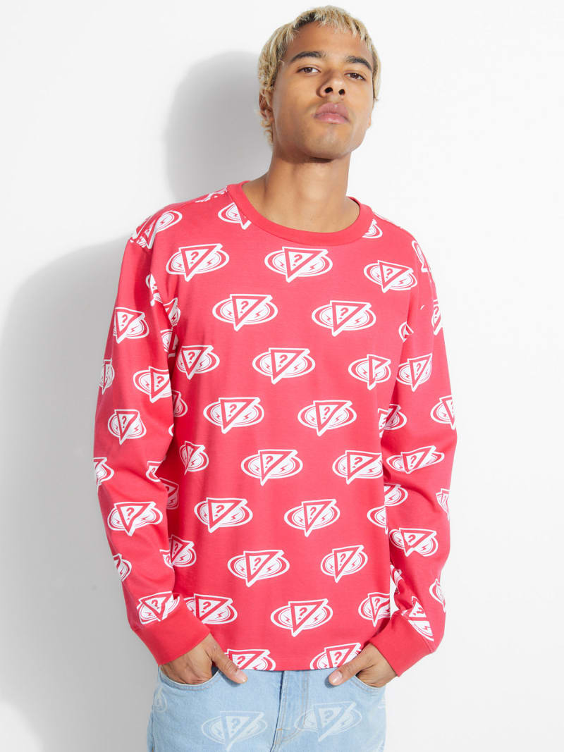 CAMISETA J BALVIN CON LOGO ALL OVER image number 1