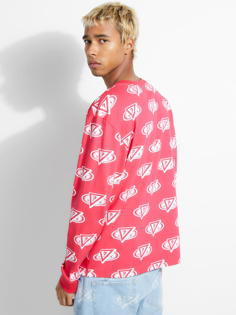 CAMISETA J BALVIN CON LOGO ALL OVER image number 3
