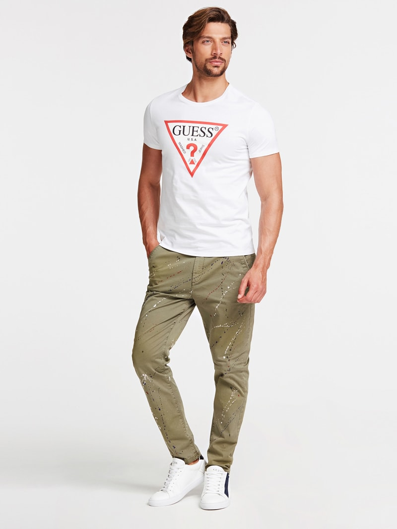 TRIANGLE LOGO T-SHIRT image number 1