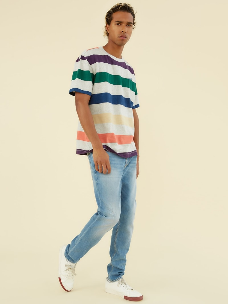 STRIPE MOTIF T-SHIRT image number 1