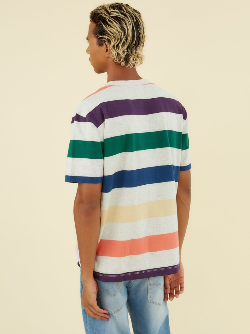 STRIPE MOTIF T-SHIRT image number 3