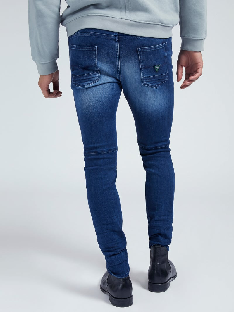 SKINNY FIT DENIM PANT image number 2