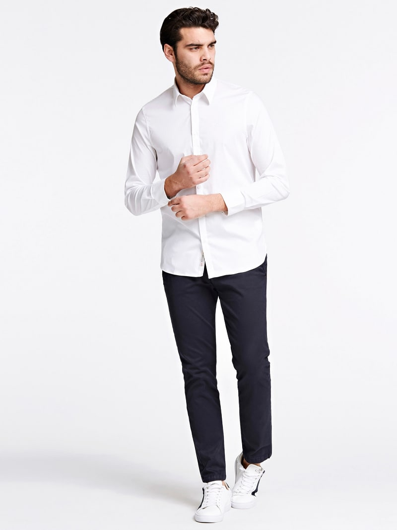 SLIM FIT OVERHEMD image number 1