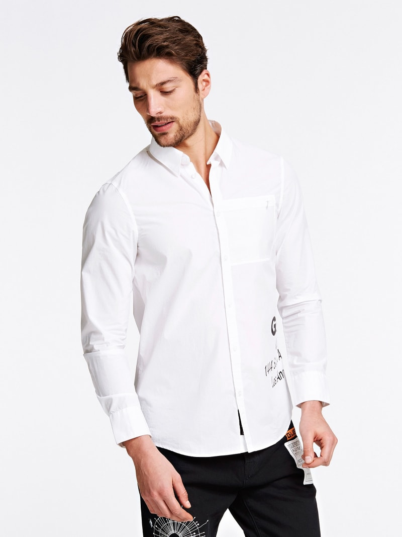 CAMICIA STAMPA FRONTALE image number 0