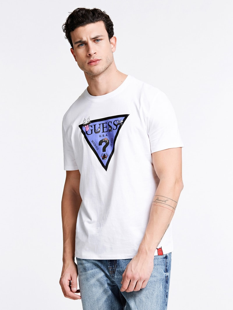 T-SHIRT LOGO TRIANGLE  image number 0