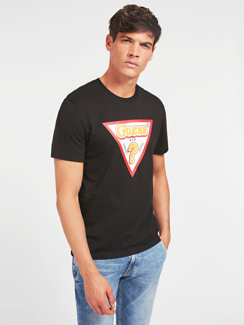 T-SHIRT LOGO TRIANGULAIRE image number 0