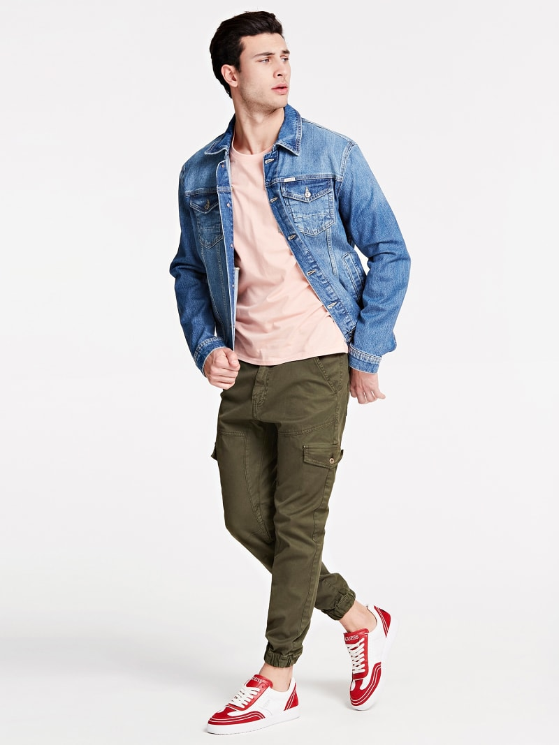 SLIM FIT DENIM JACKET image number 1