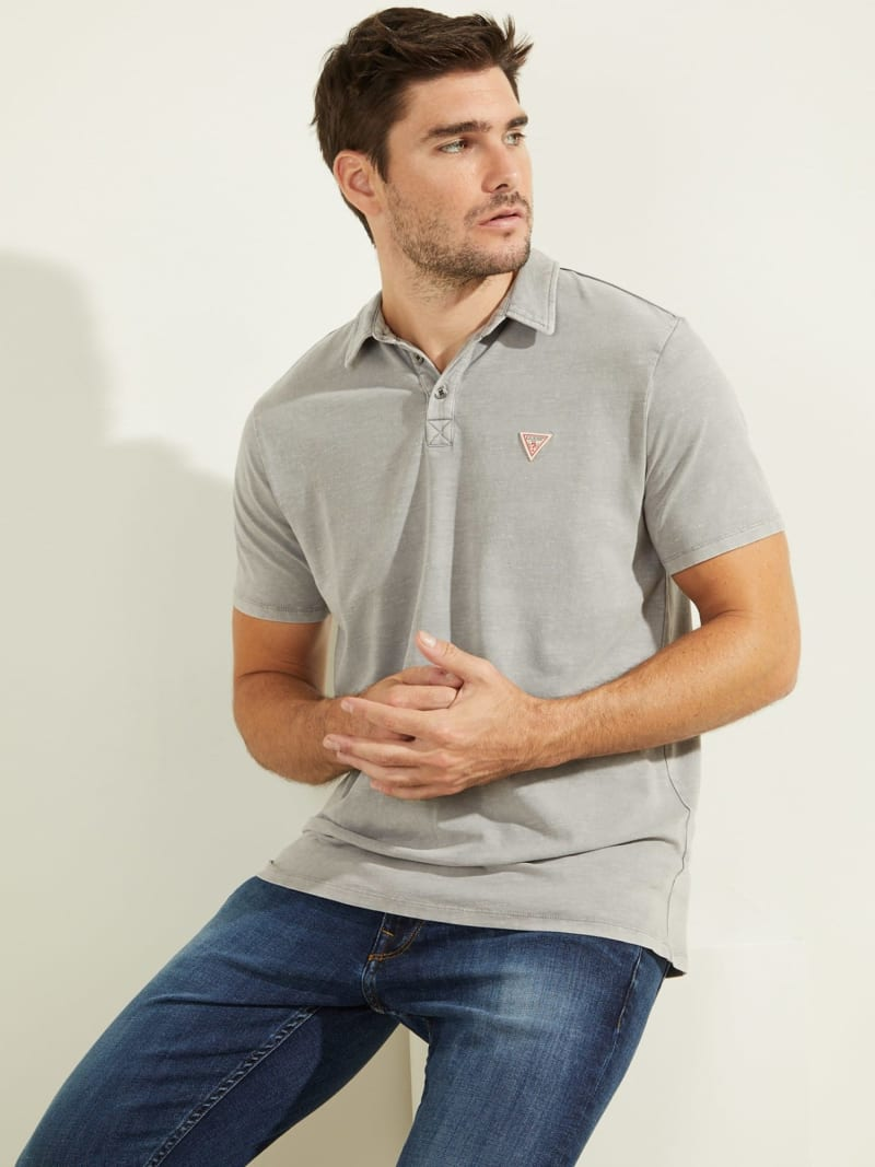LOGO TRIANGLE POLO SHIRT image number 0