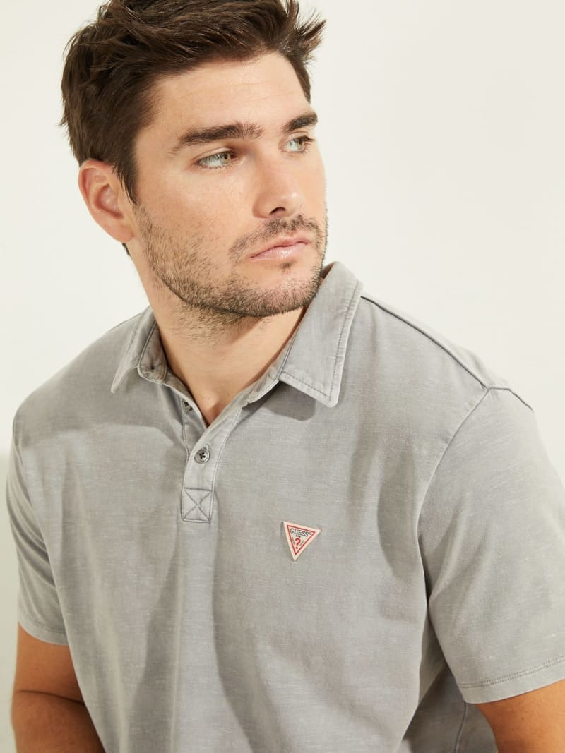 LOGO TRIANGLE POLO SHIRT image number 2