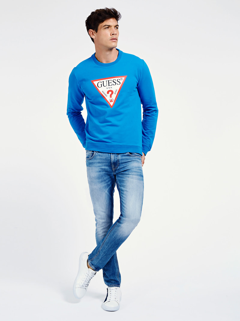 DRIEHOEK LOGO SWEATER image number 1