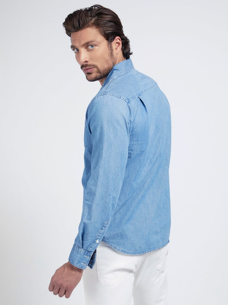REGULAR FIT DENIM SHIRT image number 2