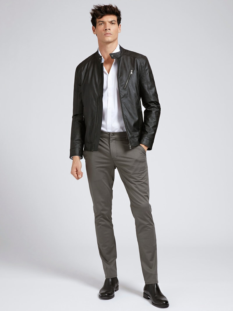 FAUX LEATHER JACKET image number 1