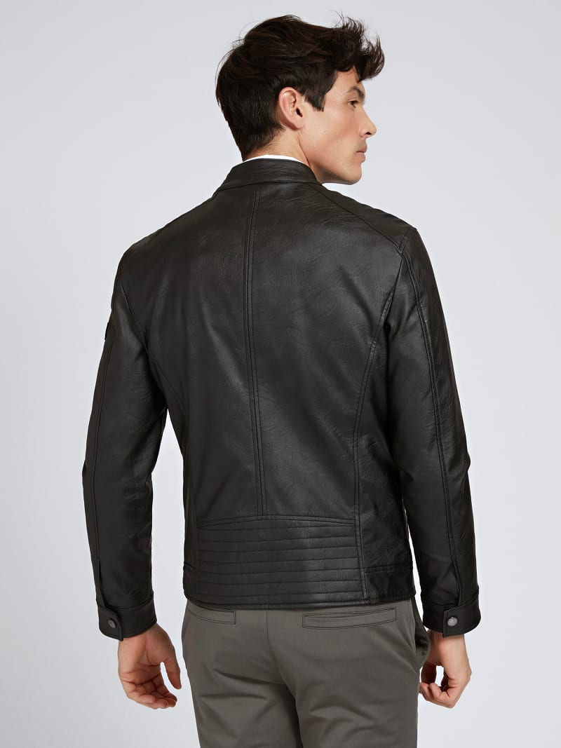 FAUX LEATHER JACKET image number 2