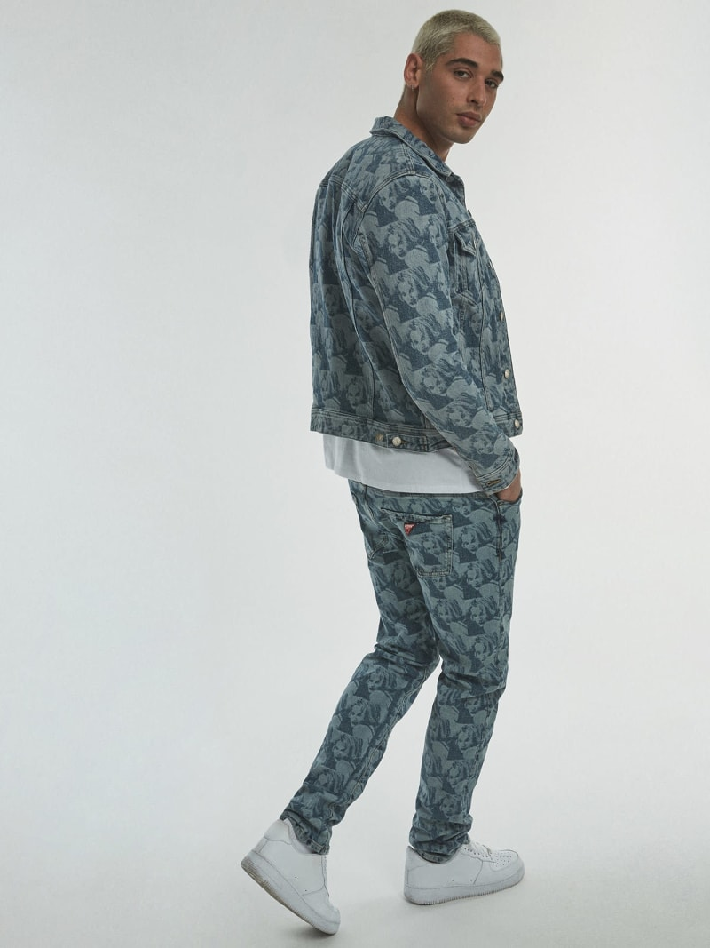 JACKE DENIM PRINT ALLOVER image number 3