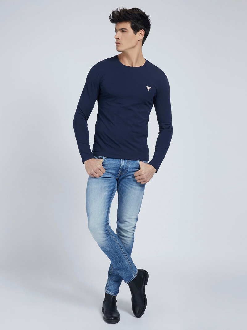 SUPER SLIM LONG SLEEVES T-SHIRT image number 1