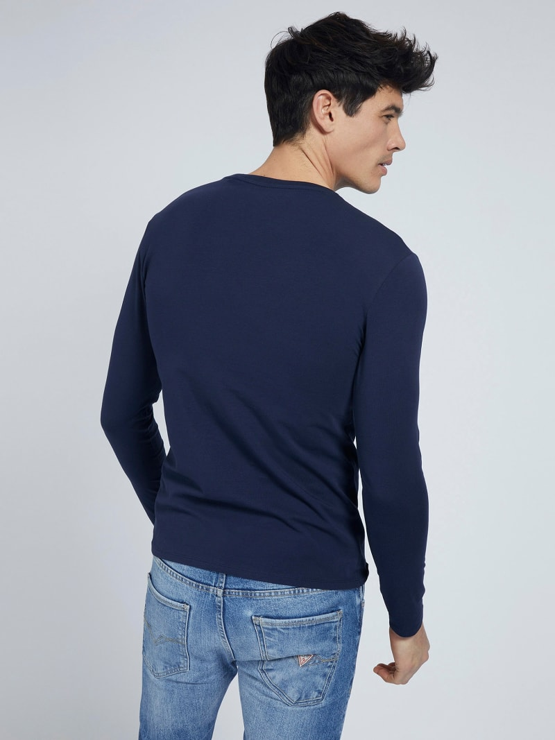 SUPER SLIM LONG SLEEVES T-SHIRT image number 2