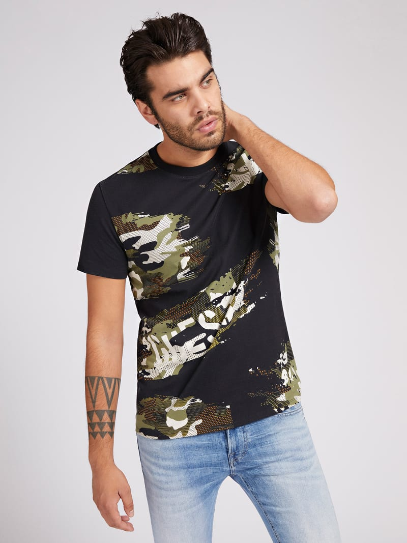 CAMOUFLAGE T-SHIRT image number 0