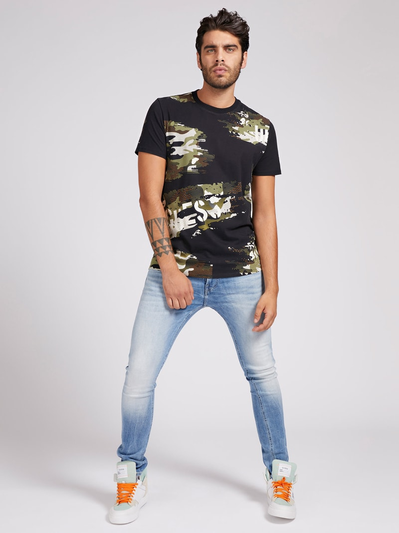 CAMOUFLAGE T-SHIRT image number 1